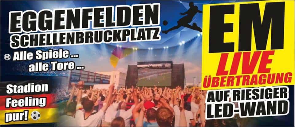 Fußball Spektakel am Schellenbruckplatz