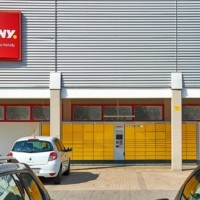 Die neue DHL Packstation in Eggenfelden