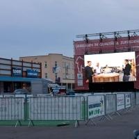 WM Public Viewing am Schellenbruckplatz