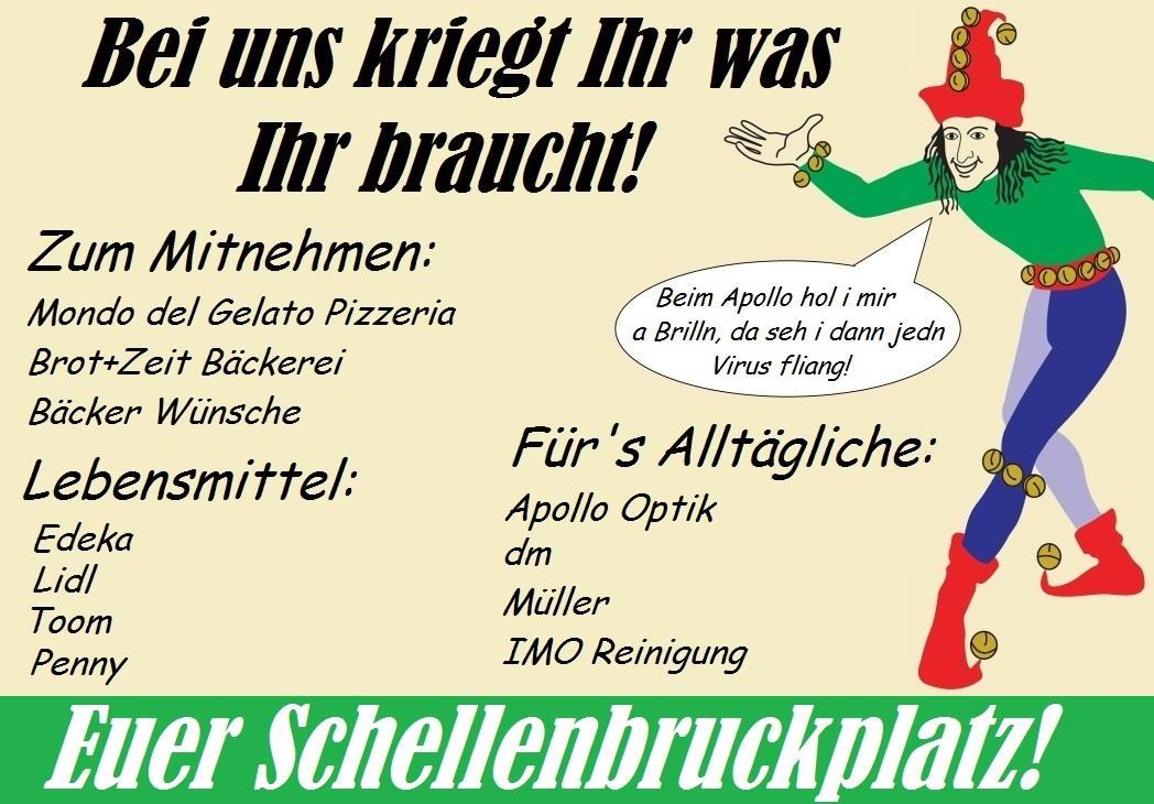 Schellenbruckplatz Eggenfelden - Corona Krise - 1