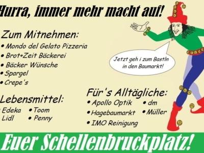 Schellenbruckplatz Eggenfelden - Corona Krise - 3
