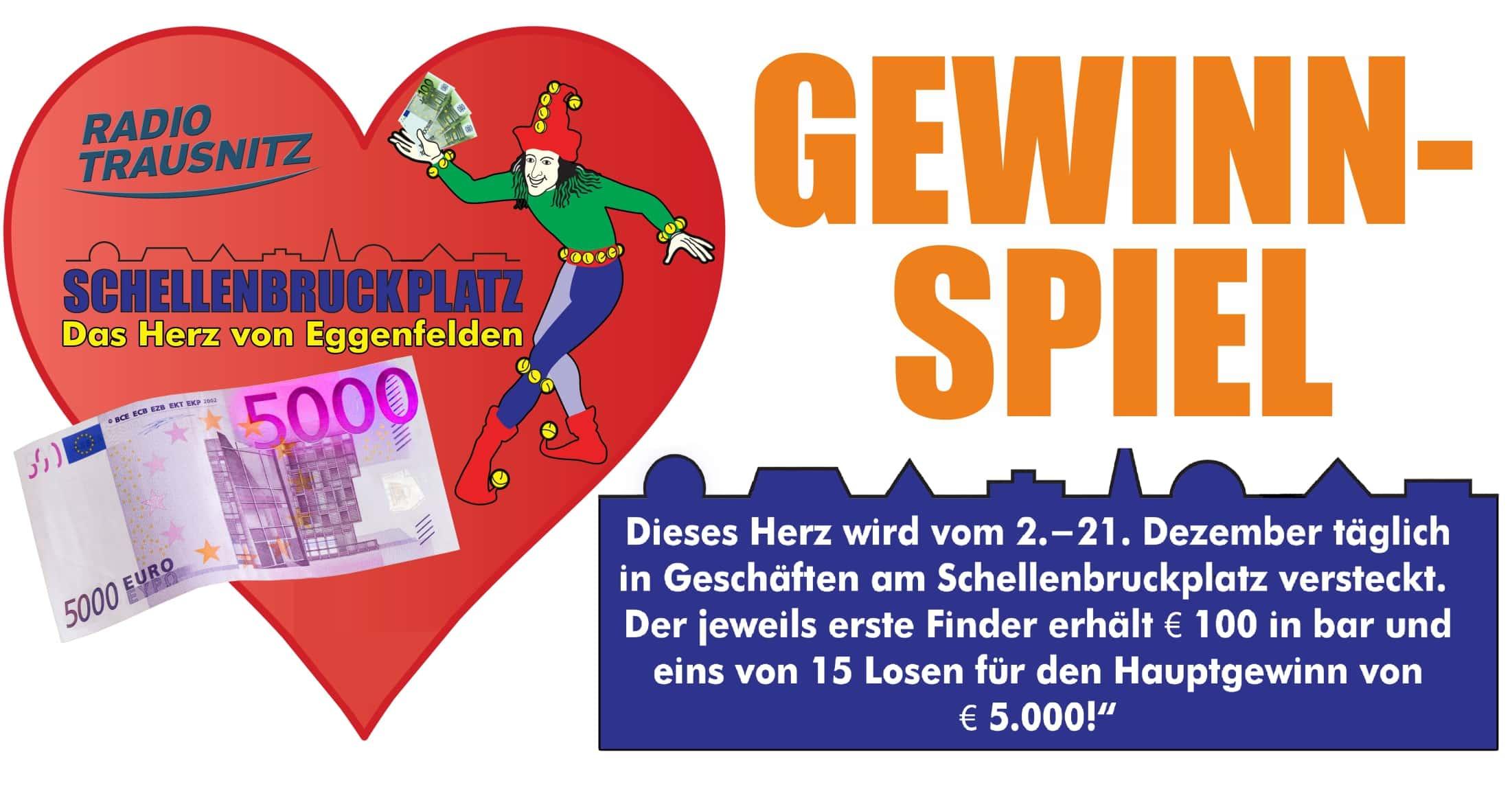 Gewinnspiel: Schellenbruckplatz, das Herz von Eggenfelden