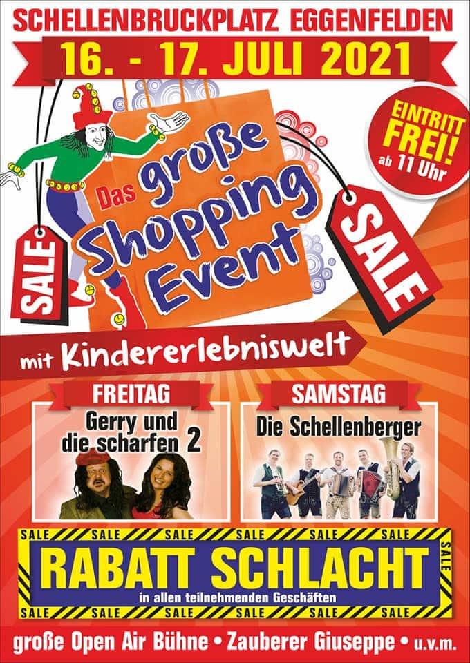 Das große Shopping Event 16. und 17.07.2021