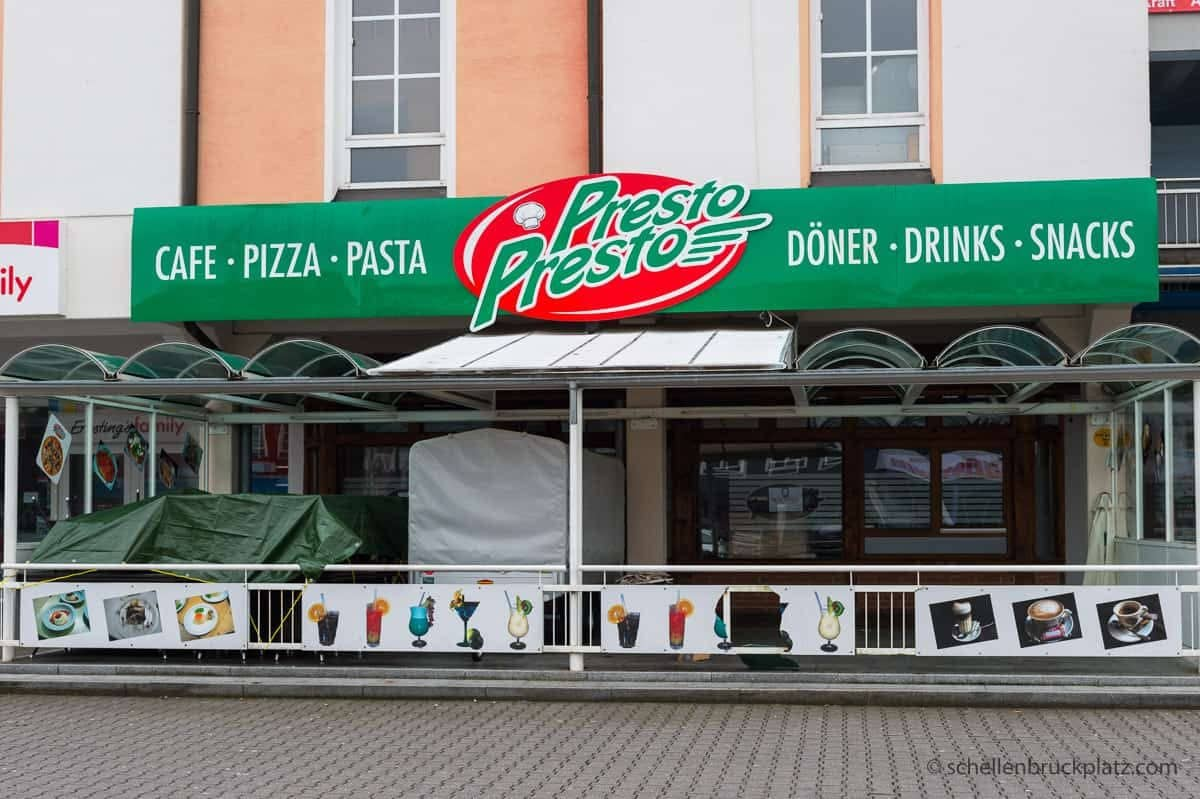 Umbau – aus Presto Presto wird Pizza & Pasta