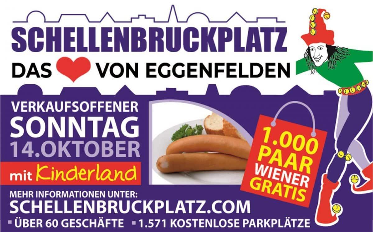 Verkaufsoffener Sonntag am 14.10.18 auf dem Schellenbruckplatz